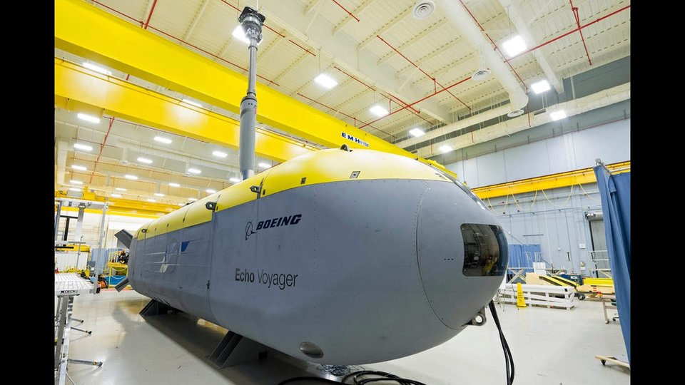 Orca XLUUV: Boeing's whale of an unmanned sub - Global Defence