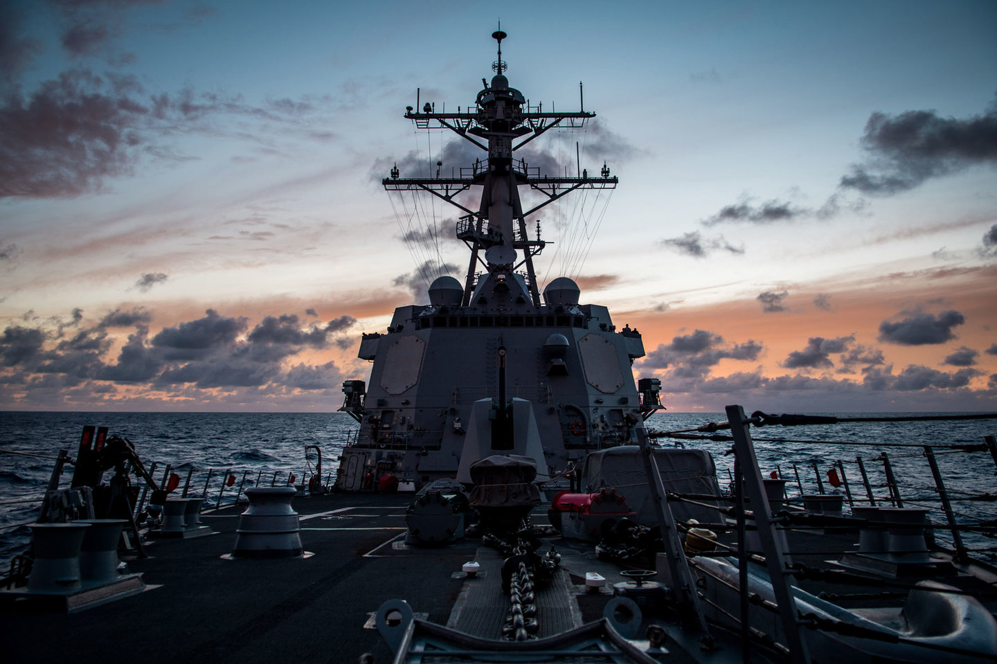 The US Navy is testing laser weapons on the destroyer USS Dewey