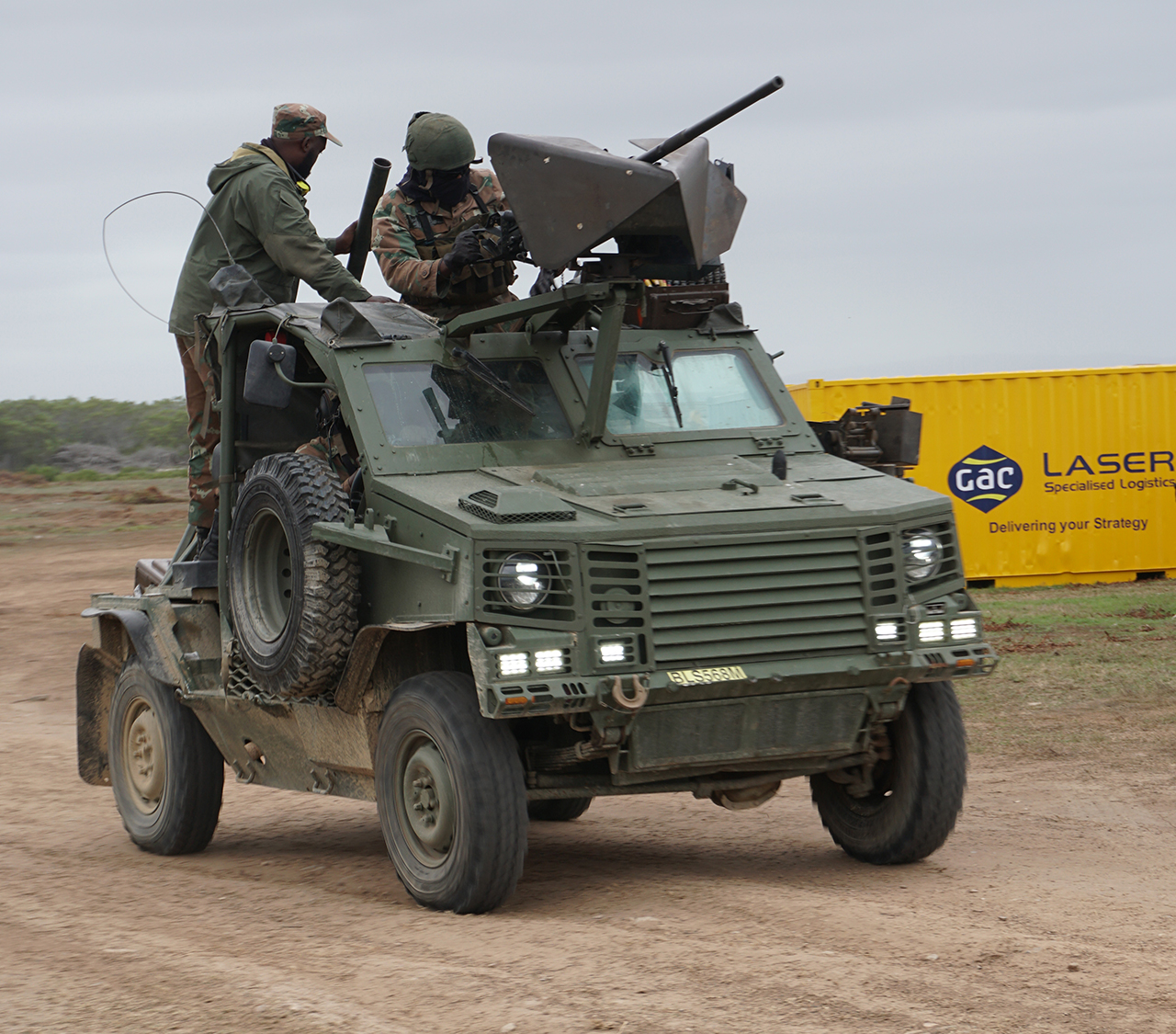 The South African Army's firepower on display - Global ...