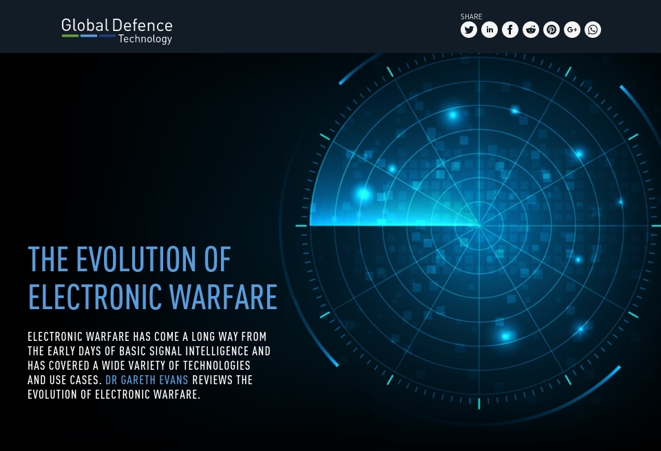 The evolution of electronic warfare - Global Defence